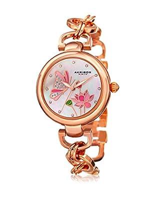 Akribos XXIV Uhr mit japanischem Quarzuhrwerk Woman rosé 36 mm