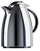 Emsa Auberge Mini 12-Ounce Quick Tip Insulated Server, Chrome