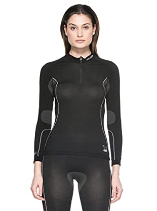 Salewa Íntimo Camiseta Seamless W Maglia (Negro)