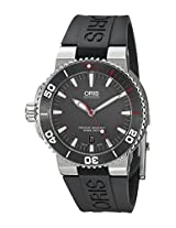 Oris Men's 73376534183RS Analog Display Swiss Automatic Black Watch