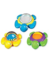 Bright Colors, Rattles & Spinning Balls Turtles Toy