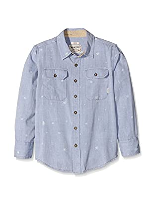Burton Camisa Niño Brighton Chambray Animal