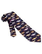 Men's 100% Silk Trout Fish Family Names Fishing Necktie Tie Neckwear