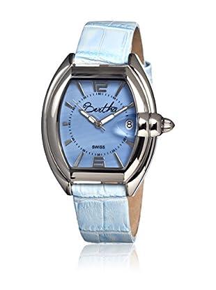 Bertha Uhr mit Schweizer Quarzuhrwerk Chloe blau 42 mm