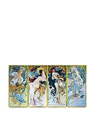 Artopweb Panel Decorativo Mucha Les Saisons 1897