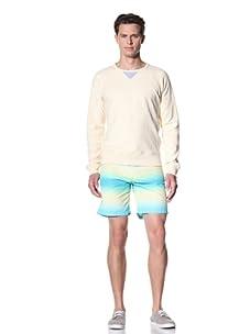 Olasul Men's Reverse Beach Sweatshirt (Bone)