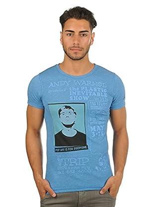 Pepe Jeans London Camiseta Popper (Azul)