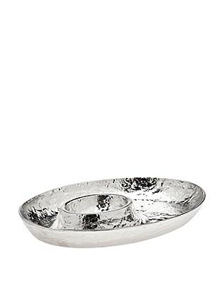 Godinger Lava Oval Chip & Dip