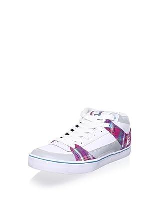 Etnies Women's RVM Hi Top Sneaker (White/Grey)
