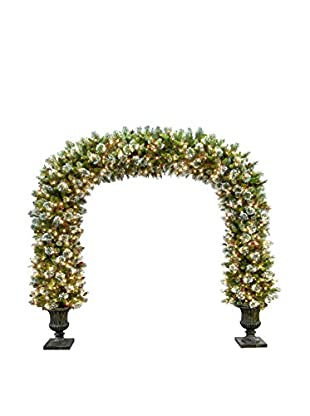 National Tree Company 8.5' Wintry Pine Archway