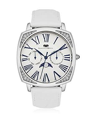 Rhodenwald & Söhne Uhr mit Japanischem Quarzuhrwerk 10010117 weiß 38  mm
