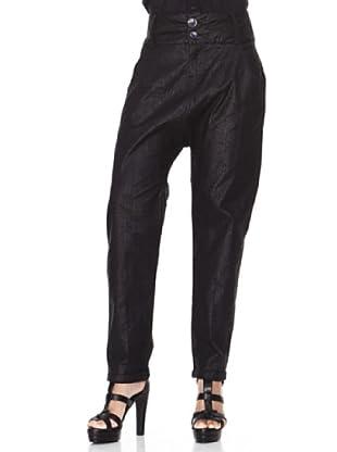 Desigual Pantalón Nadaporcabeza (negro)