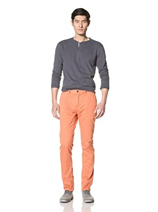 Just a Cheap Shirt Men's Slim Fit Chino (Cali Orange)