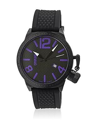 Breed Reloj con movimiento cuarzo suizo Brd5703 Negro 45  mm