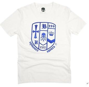 HYDROGEN ハイドロゲン メンズ Tシャツ ホワイト HY-T002 並行輸入品