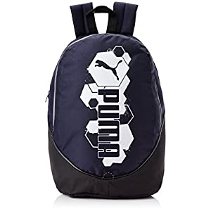 Puma Polyester Blue Casual Backpack (7216904)