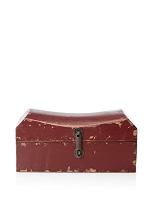 Antique Revival Pillow Box (Red)