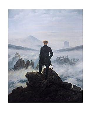 Legendarte Leinwandbild Caspar David Friedrich - Viandante Sul Mare Di Nebbia