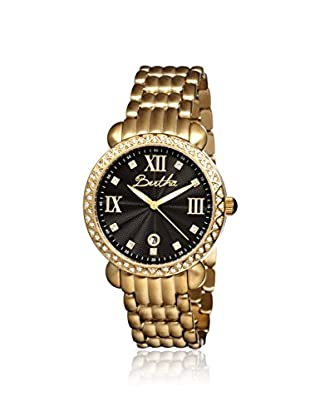 Bertha Women's BR1104 Ruth Gold/Black Stainless Steel Watch