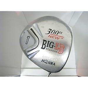 【クリックで詳細表示】【中古】 【Eランク】 本間ゴルフ NEW BIG-LB クローム 300CC 8.5° 2S DORIC TITANIUM FEATHER WEIGHT I その他 男性向 右利き ドライバー