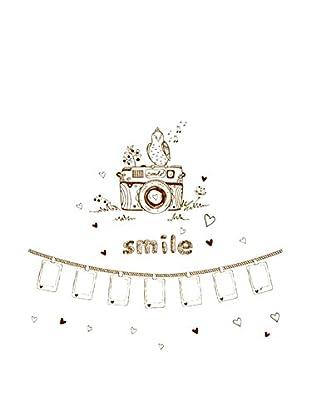 LO+DEMODA Vinilo Decorativo Photo Smile