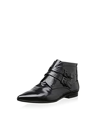 Jil Sander Women's Bootie with Double Buckle (Nero)