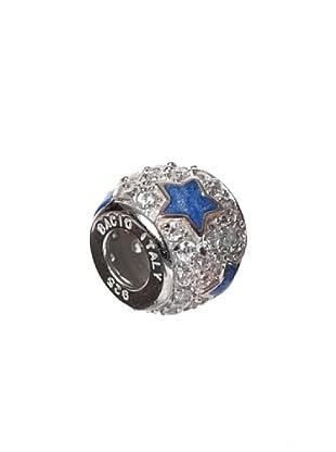 Bacio Abalorio de Plata de Ley 925  Confetti  Estrella Azul