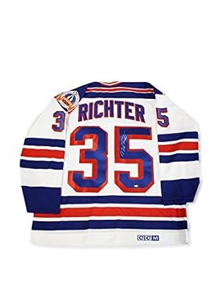 Steiner Sports Memorabilia Mike Richter Signed New York Rangers 1994 Replica White Home Jersey