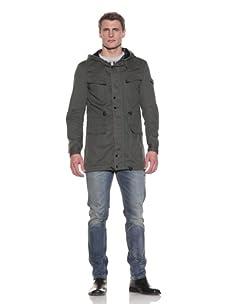 MG Black Label Men's Lithium Hooded Jacket (Olive)