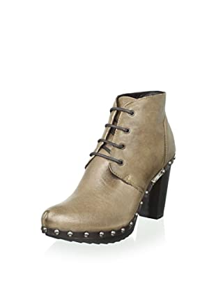 Tapeet by Vicini Women's Lace-Up Chukka Bootie (Café)