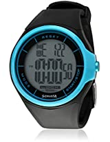 Sonata Ocean NE7992PP12J Men's Digital Grey Dial Watch