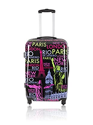 Travel ONE Trolley rígido Staines Multicolor  50  cm