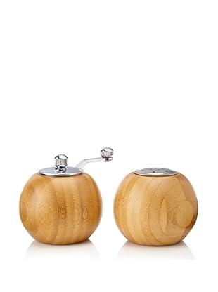 Core Bamboo Globe Pepper Mill and Salt Shaker Set