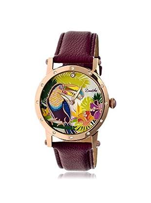 Bertha Women's BTHBR4404 Gisele Purple/Multicolor Leather Watch