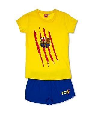 Licencias Pijama F.C. Barcelona (Amarillo / Azul)