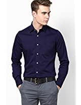 Blue Full Sleeves Casual Shirt Allen Solly
