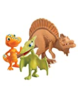 Learning Curve Dinosaur Train Collectible Dinosaur 3 Pack - My Friends Are Therapods: Old Spinosaurus, Buddy And Mrs. Pteranodon