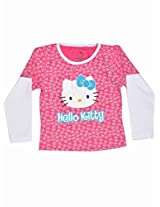 Hello Kitty Girls T-shirt - Pink (6 - 24 Months)