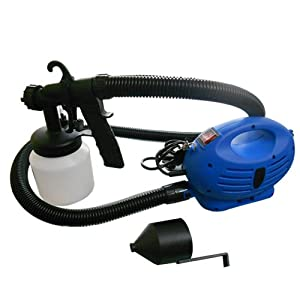 Electric Spray Paint Machine which sprays 15 sq mts in 10 minutes