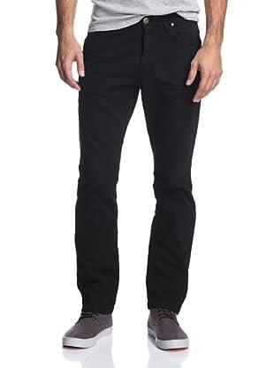 X-RAY Men's Slim Straight Leg Pant (Black)
