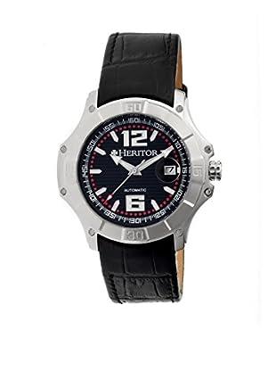 Heritor Automatic Uhr Norton Herhr3001 schwarz 48  mm