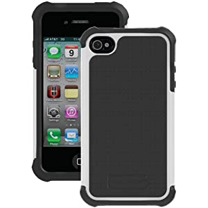 Ballistic SA0582-M045 Soft Gel Case for iPhone 4/4S and GSM/CDMA - 1 Pack - Retail Packaging