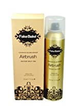 Fake Bake Instant Self-Tanning Spray Air Brush Self Tanning Products 7 oz - Set of 2 AD