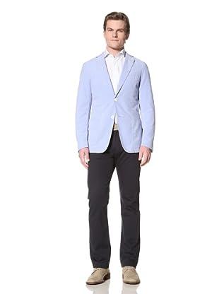 GANT by Michael Bastian Men's The M.B. Pincord Sportcoat (Bobby Blue)