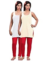 Selfcare Set Of 2 Women's Camisole