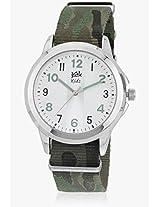 Kool Kidz Analogue Green Dial Children's Watch - DMK-017-AR 01