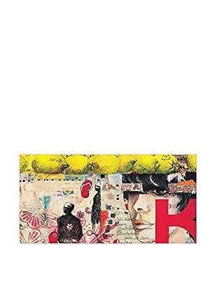 Artopweb Panel Decorativo Lorenz Citrus Lettern
