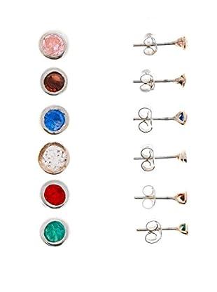 My Silver Ohrring Set x 6