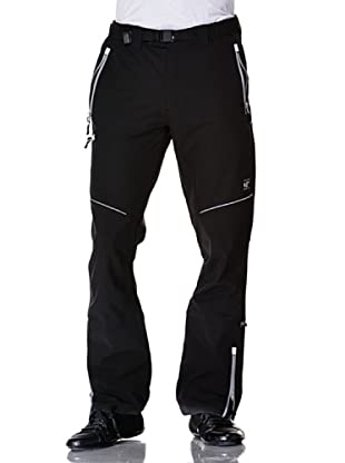 Black Wolf Pantalone Stretch Con Toppe (Nero)