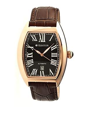 Heritor Automatic Uhr Redmond Herhr2206 braun 44  mm